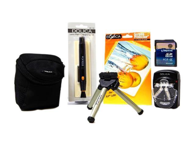 Dolica Bundle 6in1 Point & Shoot Kit