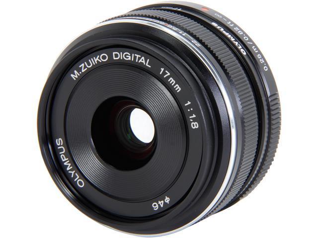 OLYMPUS V311050BU000 Compact ILC Lenses M.Zuiko Digital 17mm f1.8 Lens Black