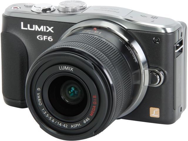 Panasonic LUMIX GF6 DMC-GF6KK Black 16 MP 3.0
