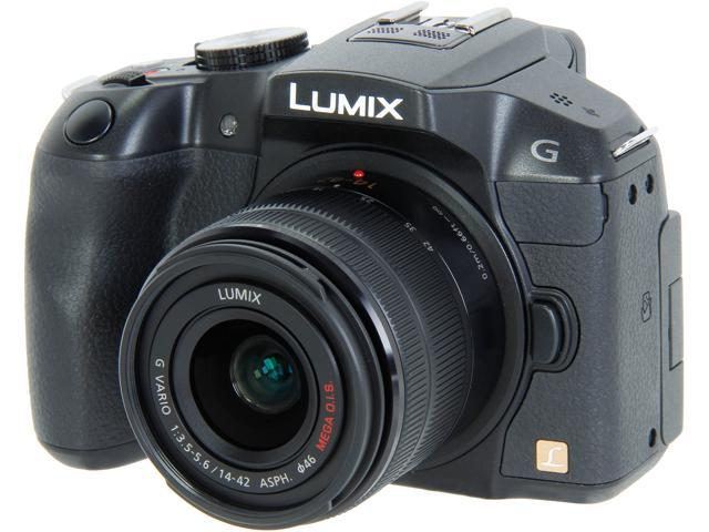 Panasonic LUMIX DMC-G6KK Black 16.05 MP 3.0