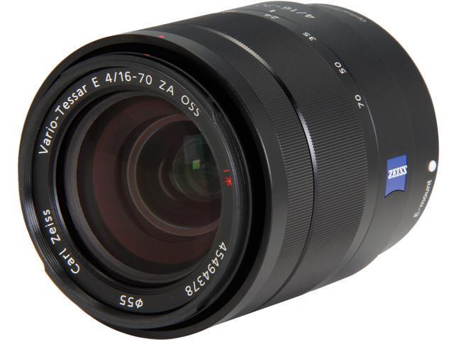SONY SEL1670Z Compact ILC Lenses Vario-Tessar T E 16-70mm F4 ZA OSS Lens Black