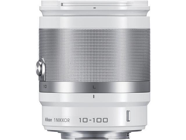 Nikon 3327 1 NIKKOR 10-100mm f/4.0-5.6 VR Lens White