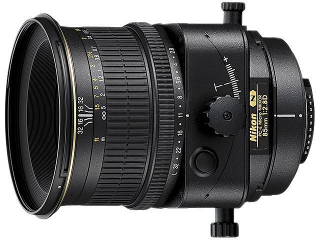 Nikon 2175 PC-E Micro NIKKOR 85mm f/2.8D Lens Black