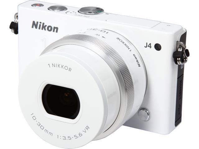Nikon 1 J4 27684 White 18.4MP 3.0
