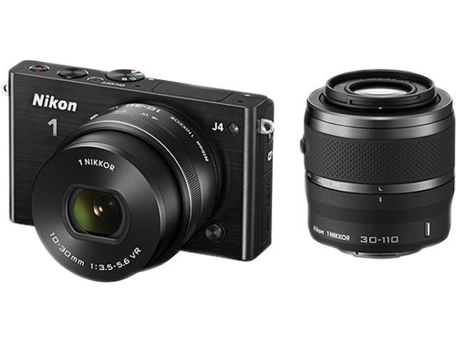 Nikon 1 J4 27704 Black 18.4MP 3.0