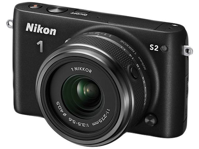 Nikon 1 S2 27696 Black Camera with 11-27.5mm lens