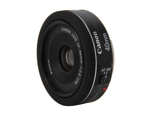 Canon 6310B002 SLR Lenses EF 40mm f/2.8 STM Lens Black