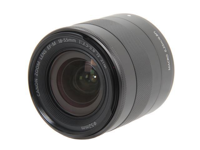 Canon 5984B002 EF-M 18-55mm f3.5-5.6 IS STM Lens Black