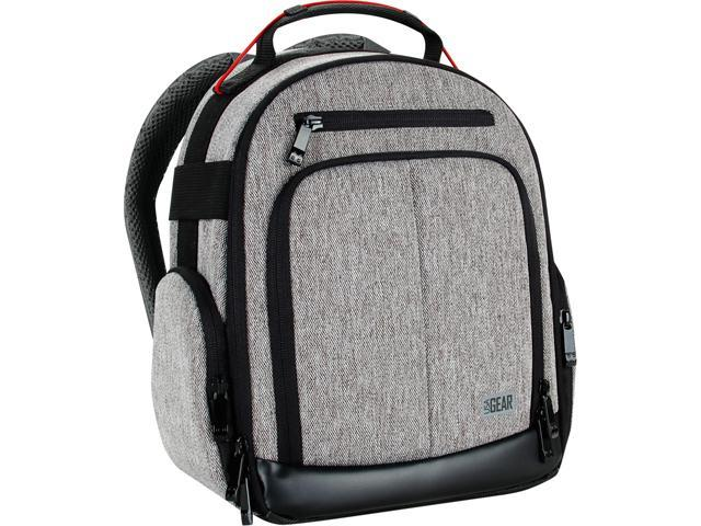USA GEAR UBK DSLR Camera Backpack with Customizable Interior Storage, a Weather Resistant Bottom and Comfort Padded Back Support for Nikon D500, Canon EOS 80D, Sony Cyber-Shot DSC-RX10 III and More