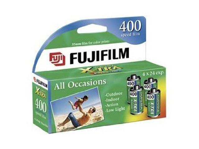 FUJIFILM 15717672 SUPERIA HIGH SPD 35MM ISO 400 24EXP-4 PK