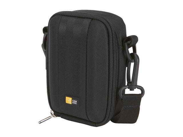 Case Logic QPB-202 Black Medium Camera and Flash Camcorder Case