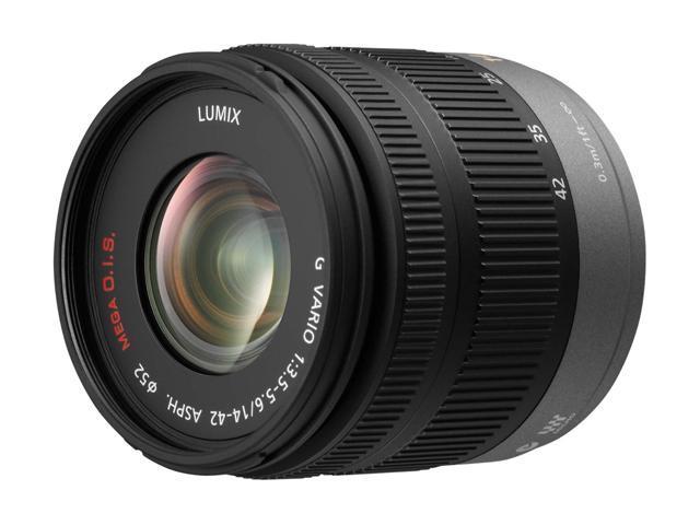 Panasonic H-FS014042 LUMIX G VARIO 14-42mm / f3.5-5.6 ASPH. / MEGA O.I.S. Lens