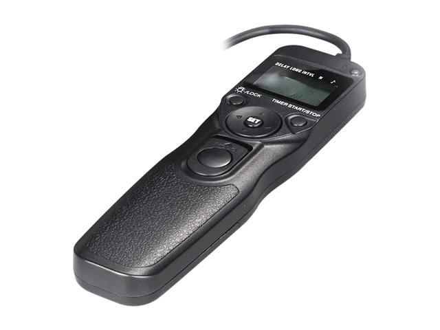 Bower RCLC1R LCD Timer & Remote Shutter Release for Canon, Pentax and Samsung Cameras