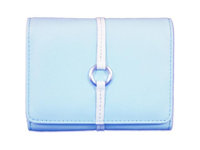 Norazza AC12169 Powder Blue New York Digital Accessory Clutch