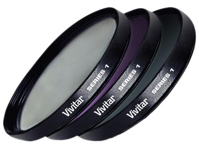 Vivitar VIV-FK3-67 67mm 3 Piece Filter Kit