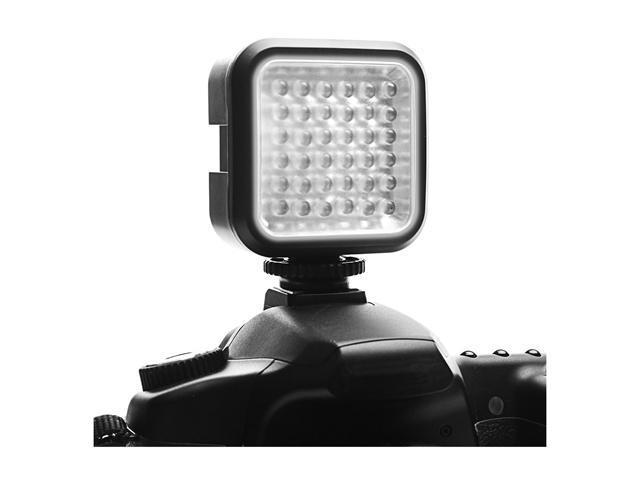 Compact Studio Camera Light Panel with Built-In Diffuser by ENHANCE - Works With Canon PowerShot SX530 HS, Fujifilm X-T10, Nikon Coolpix P900 and More