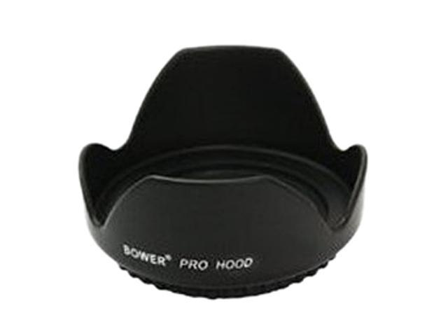 Bower HT72 Lens Hoods & Shades Tulip Hood Is Made Black