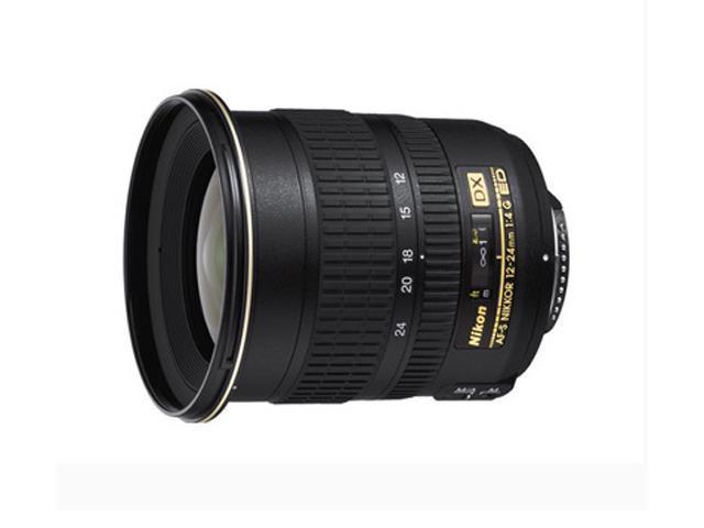 Nikon 12-24mm f/4G IF-ED AF-S DX SLR Lenses Nikkor Zoom Lens Black