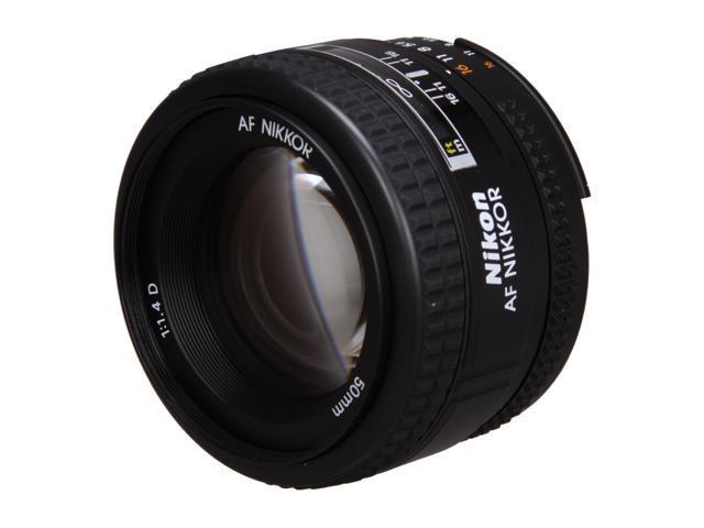 Nikon AF NIKKOR 50mm f/1.4D Lens Black