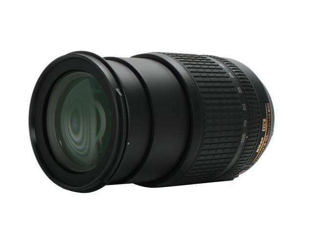 Nikon 2179 AF-S DX NIKKOR 18-105mm f/3.5-5.6G ED VR Lens - USA WARRANTY (WHITE BOX) Black
