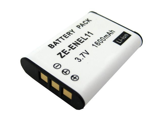 ZEIKOS ZE-ENEL11 1600mAh Li-Ion Replacement Battery for NIKON EN-EL11 and PENTAX D-LI78
