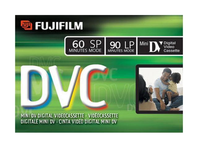 FUJIFILM 15298365 DVC60 MiniDV Cassette - 1 Pack