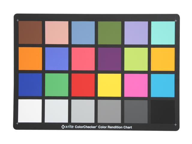 X-rite MSCCC ColorChecker Chart