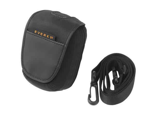 EVERKI EKC507 Black Compact Camera Case with Rain Cover