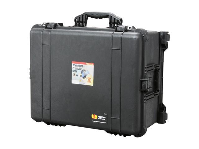PELICAN 1610-024-110 Black Case with Padded Dividers