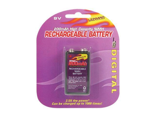 LENMAR PRO19 200mAh 9V Ni-MH Battery