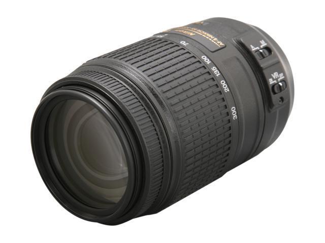 Nikon 2197 SLR Lenses AF-S DX NIKKOR 55-300mm f/4.5-5.6G ED VR Lens Black