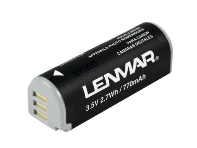LENMAR DLZ321C 800mAh Li-Ion Replacement Battery for Canon NB-9L