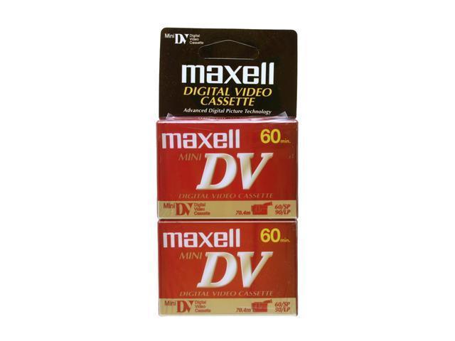 maxell 298010 60 Minutes DVM-60/2 SE Mini DV Tape