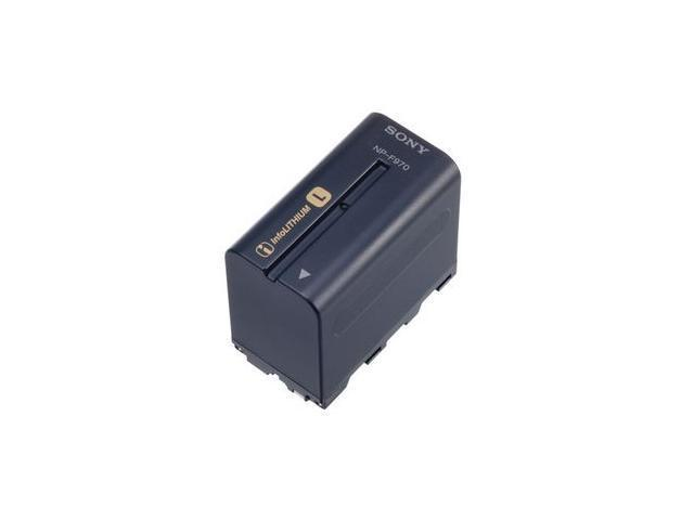 SONY NP-F970 7.2V 6600mAh Lithium-Ion InfoLithium L Series Camcorder Battery
