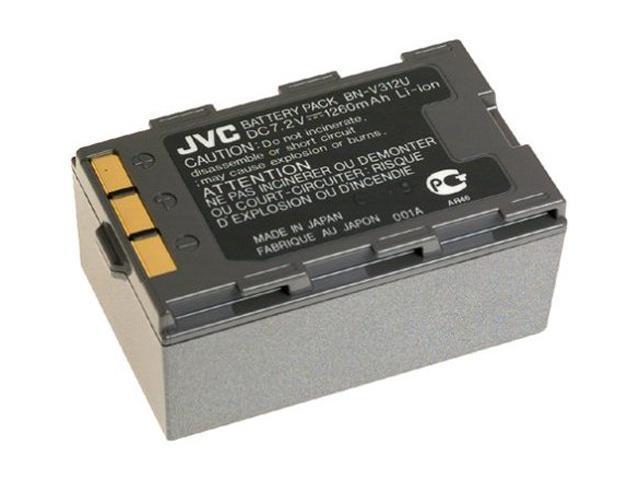 JVC BN-V312U 1260 mAh 7.2V Lithium-Ion Camcorder Battery