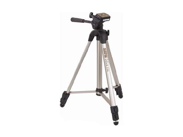 SUNPAK 6601TM Tripod/Monopod with 3-Way Fluid Effect Head (Quick Release)