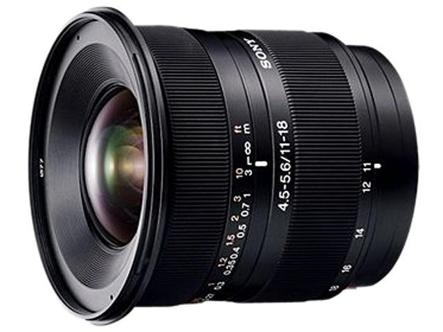 SONY DT 11-18mm f/4.5-5.6 Wide-Angle Zoom Lens
