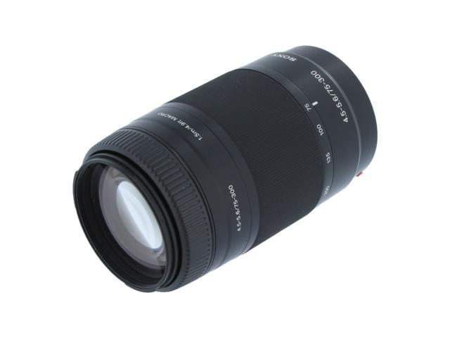 SONY 75-300mm f/4.5-5.6 Zoom Lens