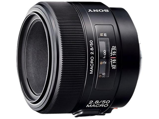 SONY 50mm f/2.8 Macro Lens Black