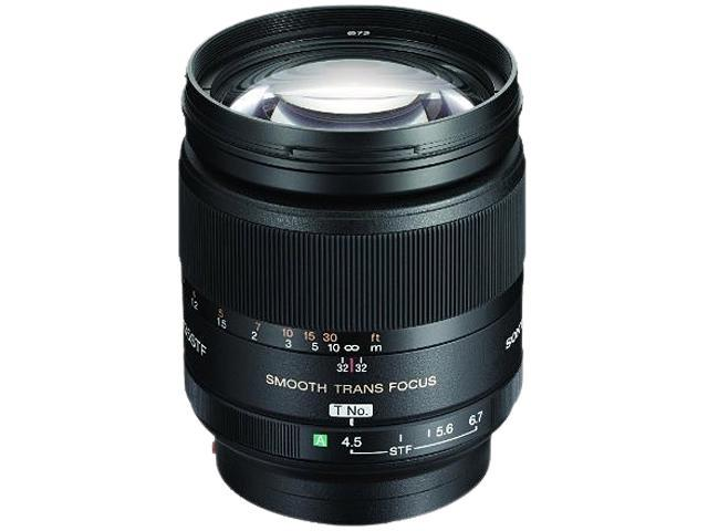 SONY SAL135F28 135mm f/2.8 (T4.5) STF Telephoto Lens Black