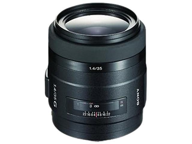 SONY SAL-35F14G G Series 35mm f/1.4 G Lens Black