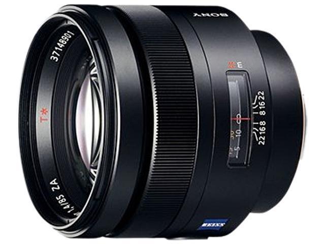 SONY SAL-85F14Z Carl Zeiss Planar T 85mm f1.4 Telephoto Lens Black