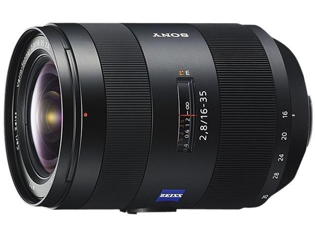 SONY SAL1635Z Carl Zeiss 16-35mm f/2.8 Zoom Lens Black