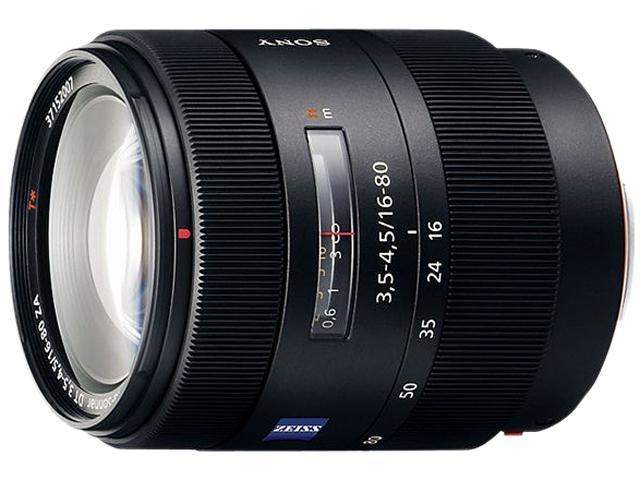 SONY SAL1680Z Carl Zeiss Vario-Sonnar T DT 16-80mm f/3.5-4.5 Zoom Lens Black