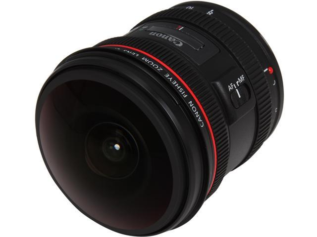 Canon 4427B002 EF 8-15mm f/4L Fisheye USM Lens Black