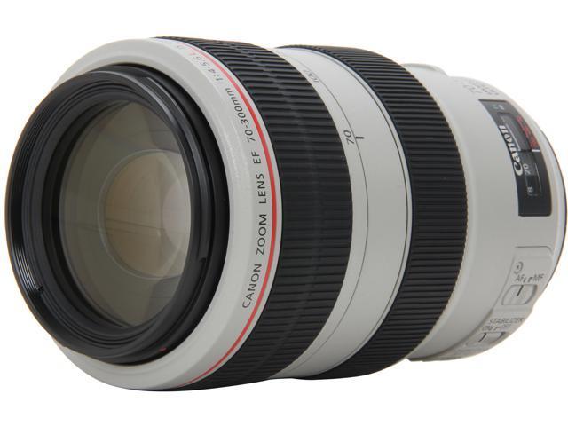 Canon 4426B002 SLR Lenses EF 70-300mm f/4-5.6L IS USM Lens White