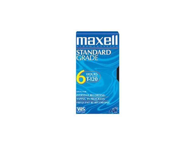 maxell 213030 Standard Grade VHS Videocassette