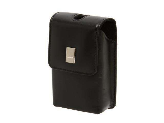 Canon PSC-55 Black Soft Leather Compact Case For Almost Canon Digital ELPH Cameras