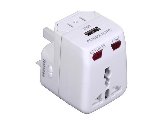 Sunpak TRAVEL-ADAPT Universal World-Wide Travel Adapter