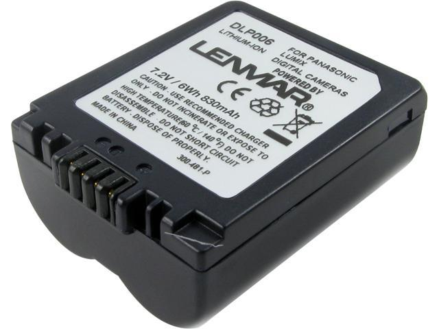 Lenmar DLP006 Digital Camera Equivalent to the Panasonic CGR-S006A, CGR-S006A/1B, CGR-S006E Batteries
